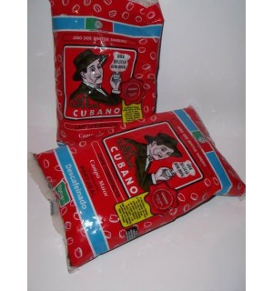 CUBAN DECAFEIATED COFFEE IN GRANO, bag of 500gr.