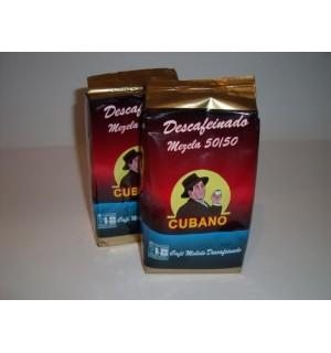 CAFÉ DESCAFEINADO CUBANO MOLIDO, paquete 250gr.
