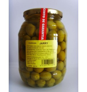 """OLIVES WITH ANCHOVY-FLAVORED BONE """"JARRY"""""""