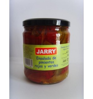 """RED AND GREEN PEPPER SALAD """"JARRY"""""""