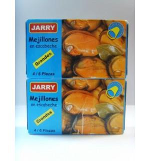 "BIG PICKLED MUSSELS ""JARRY"" PACK 2"