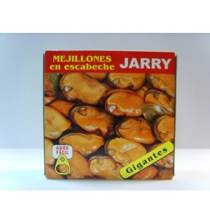 """GIANT PICKLED MUSSELS """"JARRY"""""""