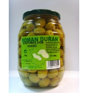 """OLIVES WITH BONE """"ROMAND DURAN"""""""
