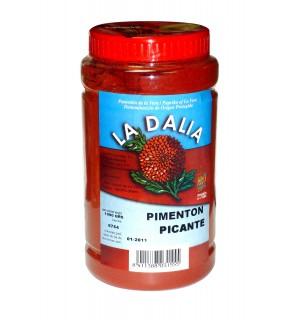 "PIMENTON DE LA VERA PICANTE  ""LA DALIA"", Bote de 1kg."
