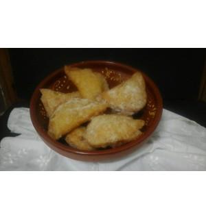 Sponge cake empanadas. Price 12 units
