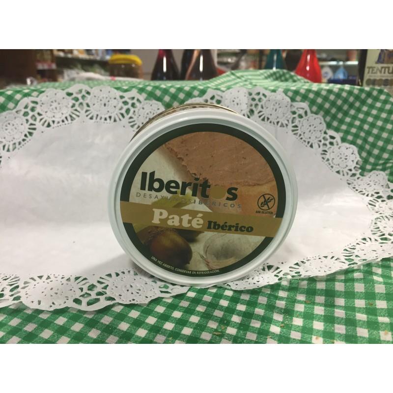 Paté ibérico iberitos, 250g