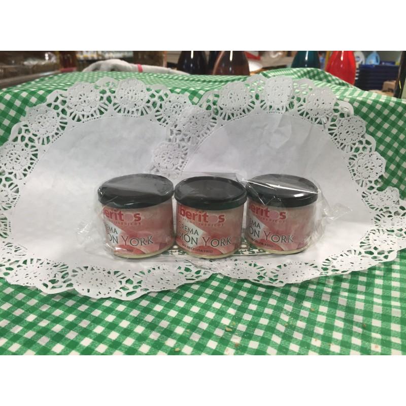 Crema jamón york pack-3 unid., 110g. la und.