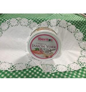 Crema de Jamón york y queso natural, 250g