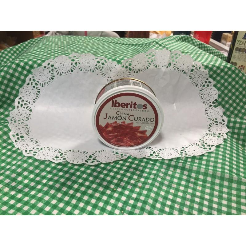 Crema de Jamón curado iberitos, 250g