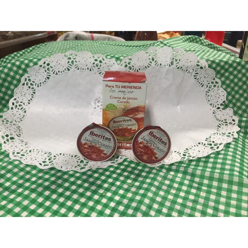 Crema de Jamón curado, pack-5 unid. sin gluten