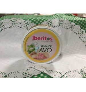 Paté Iberito crema de pavo, sin calorias, 250g