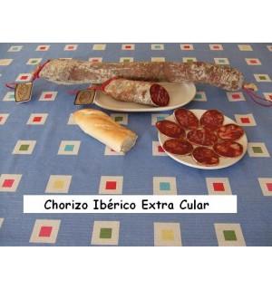 Extra cular Iberian chorizo, 650-750g pieces