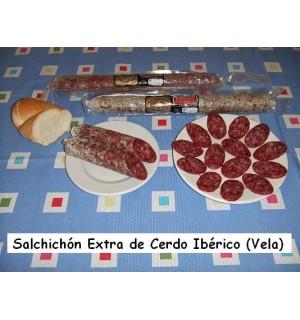 Extra Iberian sailing sausage, Hernán-Galisteo