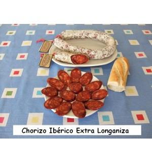 Chorizo ibéricoextra longaniza, Hernán-Galisteo