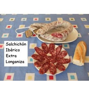 Extra longaniza Iberian sausage, Hernán-Galisteo