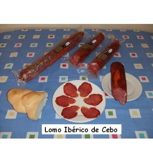 Lomo ibérico de cebo, Hernán-Galisteo