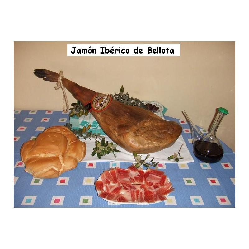 Jamón Ibérico de Bellota D.O. Guijuelo, Hernán-Galisteo