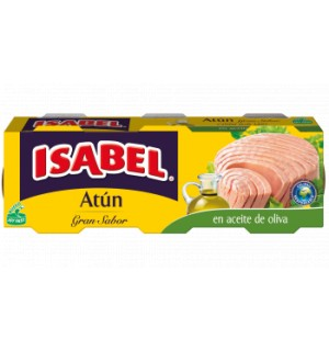 ATÚN EN ACEITE DE OLIVA GRAN SABOR ISABEL
