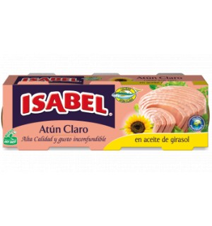 ATÚN CLARO EN ACEITE DE GIRASOL ISABEL