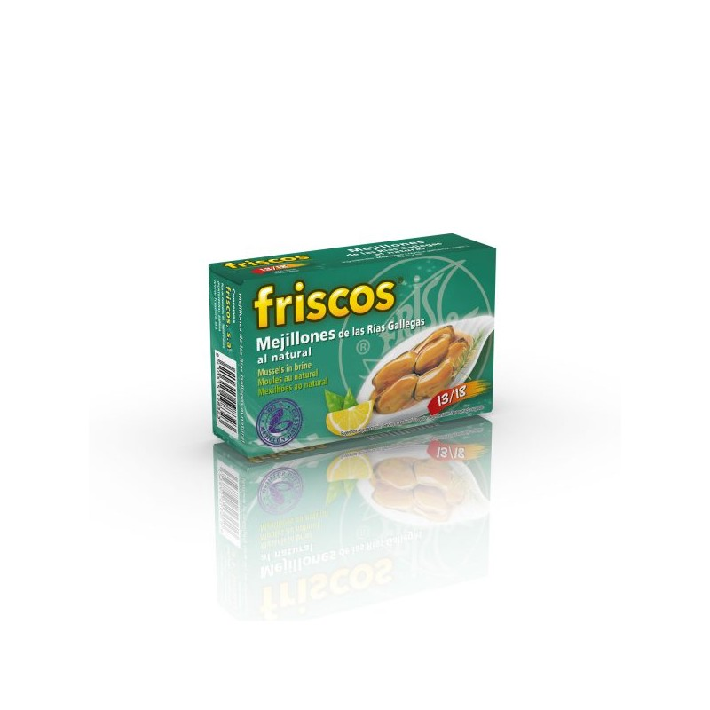 MEJILLONES AL NATURAL FRISCOS
