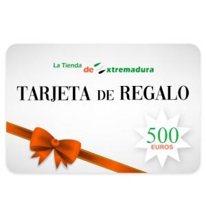 Cartão de presente 500 euros