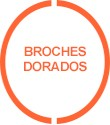 Broches d'or