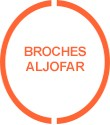 Broches Aljofar